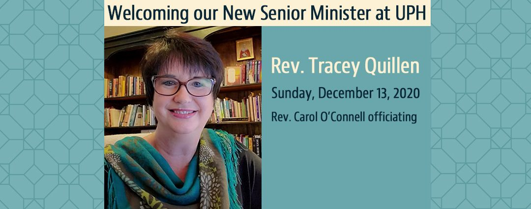 Reverend Tracey Quillen Ministerial Installation Ceremony