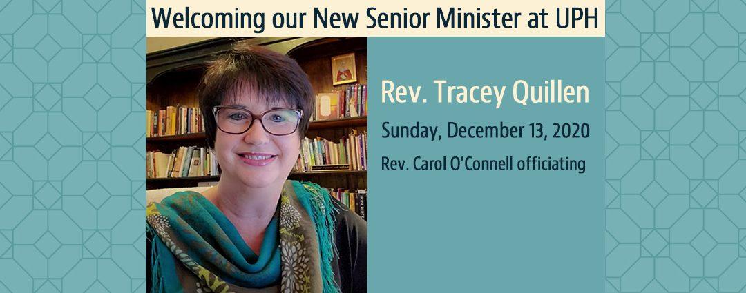Reverend Tracey Quillen Installation Ceremony