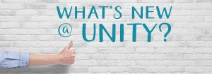 What's new at Unity